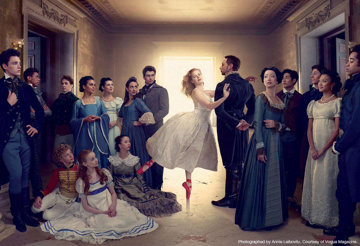 Cast members from #ABTNutcracker join #AmyAdams in this stunning image for @voguemagazine http://t.co/Oft4VJMv1D http://t.co/1Xh5cadR3S