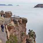Sea of clouds fills Grand Canyon in spectacular weather phenomenon http://t.co/WFGPDCMPKb http://t.co/dNQqp0RFJE