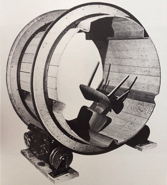 Charles and Ray #Eames made a chair tumbling machine circa 1946 to test for durability. #fbf http://t.co/5WfWi2olXb