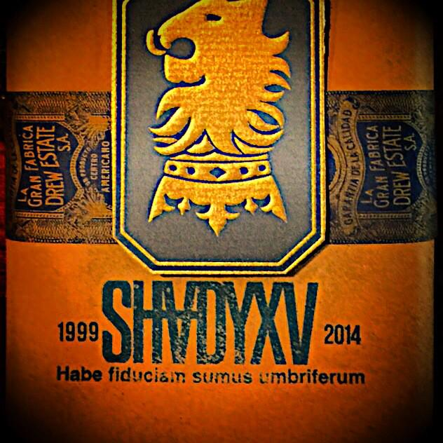 #ShadyXV Cigars by Drew Estate is an expression of the premium Undercrown brand. Working with @Rosenberg was dope.JD http://t.co/JMe5XjvjKL
