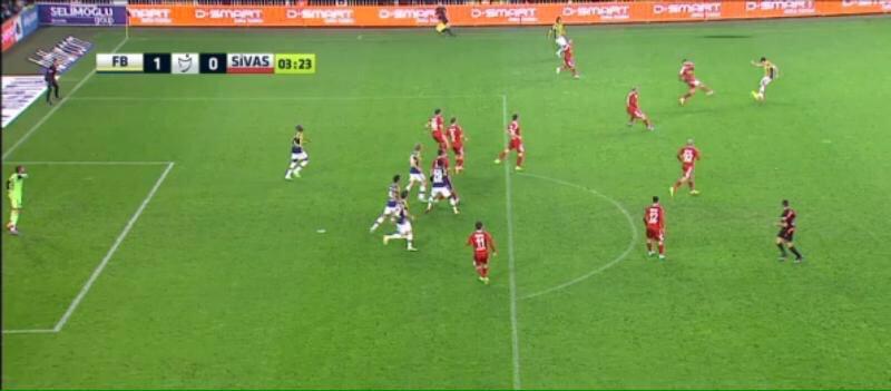 Ortayı yapan görüntüde olmasa, Fenerbahçe defans yapıyor sanılır. http://t.co/3EK9N6R3Z6