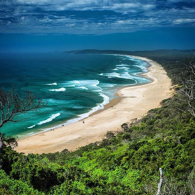 Where's your favorite beach you've ever visited? Love this photo of Byron Bay, Australia...