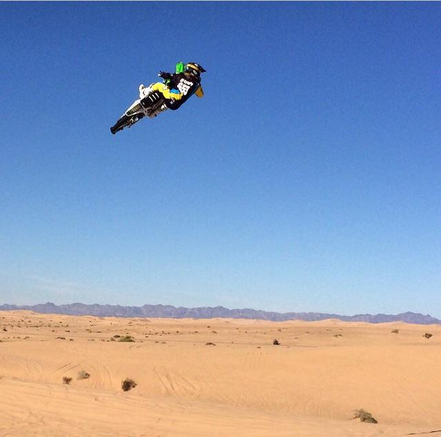 @tylerbereman is back on the bike and killin it! Get ready for the edit #TheDoonies #TeamDS #DeftFam @dirtshark