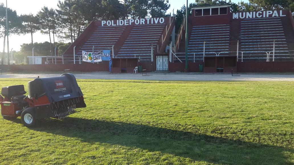 Poniendo verde a Pinamar