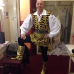 Today's the day.Alfie Dandini is ready, is Cardiff ready?? Gotta love a Panto!! http://t.co/G6BbYMCqtj