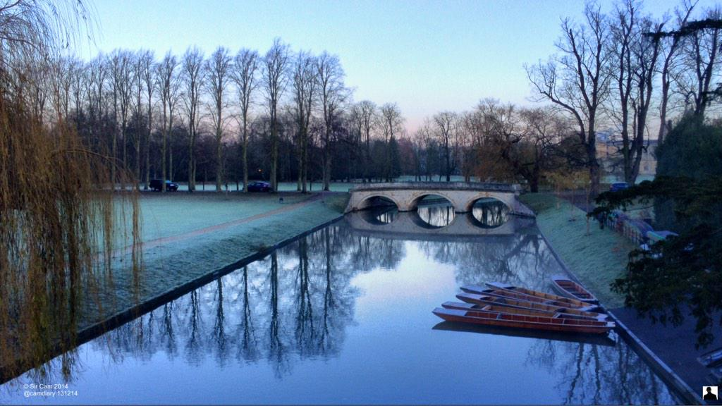 Frosty morning in Cambridge, 13 Dec. http://t.co/GEJozQiYNV