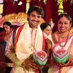 RT @SakshiPost: @actorbrahmaji Happy Married life #Aadi http://t.co/B6aeW8rPGo