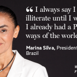 How Brazil's @silva_marina rose from poverty to become a political visionary. #FTWomen2014 http://t.co/hJxIigc2pi http://t.co/6Z8xV2OURk