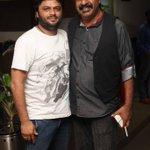 Top Kannada choreographer @ImranSardhariya with #Yogaraj Bhat at audio launch of @VaastuPrakara http://t.co/UU1h2FnyDi