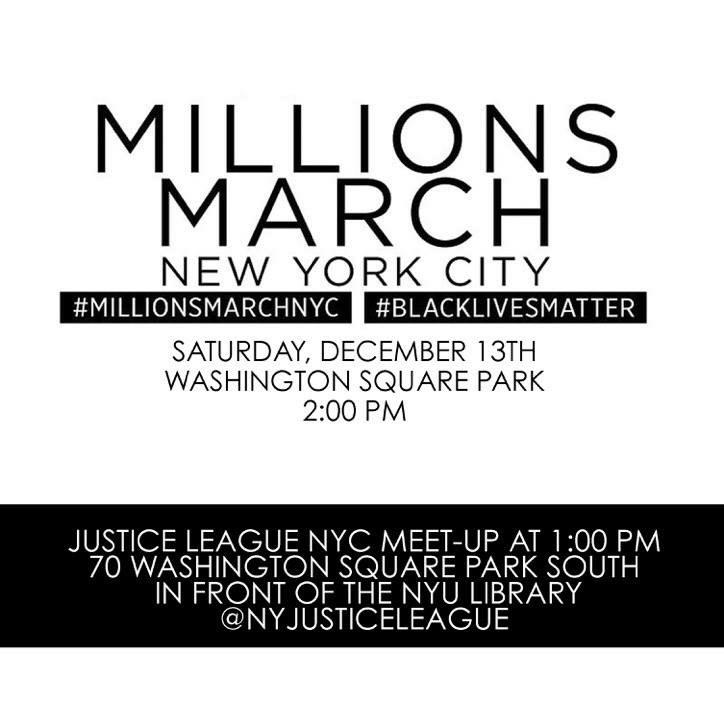 Today we march! Come join Mateo Ali! #MillionsMarchNYC #JusticeLeagueNYC http://t.co/evZJnNY21C