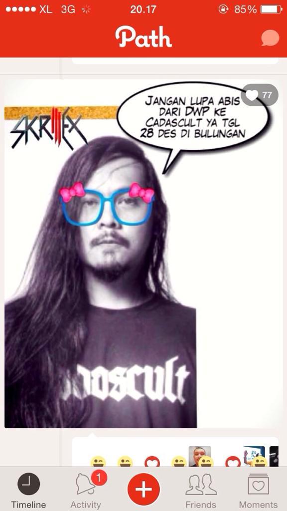Pesan dari Skrillek untuk metalheads Jakarta http://t.co/JPZS1wZzdT