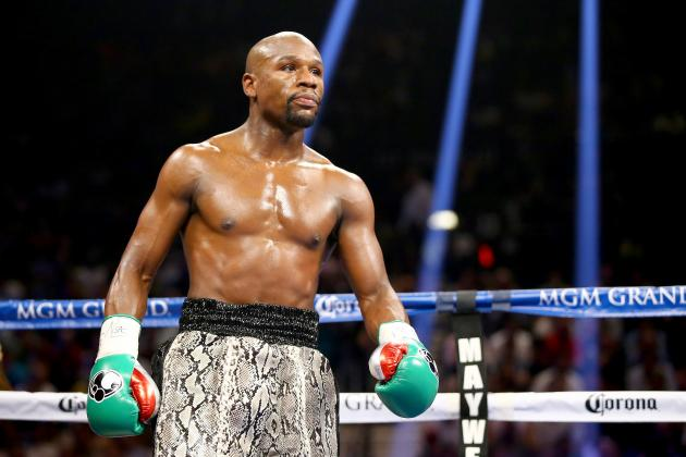 ".@FloydMayweather calls out @MannyPacquiao ""We are ready. Let's make it happen. May 2."""