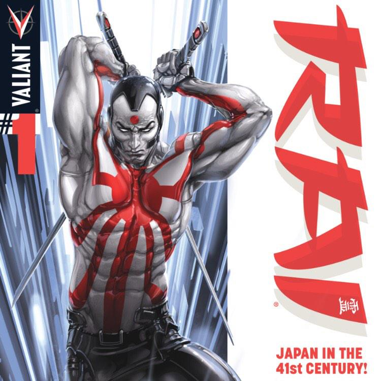 Reading Rai from @ValiantComics ? If not -  are you insane? This book is great! Get the first issue free RIGHT NOW! http://t.co/YRH4jmpipE