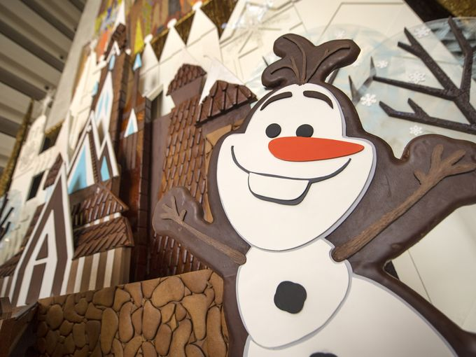 Disney World resorts deck their halls for the holidays (hint: there's lots of Frozen):