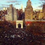 Image of millionsmarchnyc from Twitter