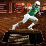 BREAKING: Oregon QB Marcus Mariota wins Heisman Trophy. Mariota threw 38 TD passes and ONLY 2 Int this season. http://t.co/dAmij4B5VP