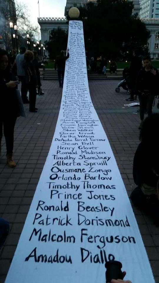 Striking RT @OccupyWallStNYC: List of unarmed men and women killed by police. #BlackLivesMatter #MillionsMarchNYC http://t.co/Jb0rLcm9oH