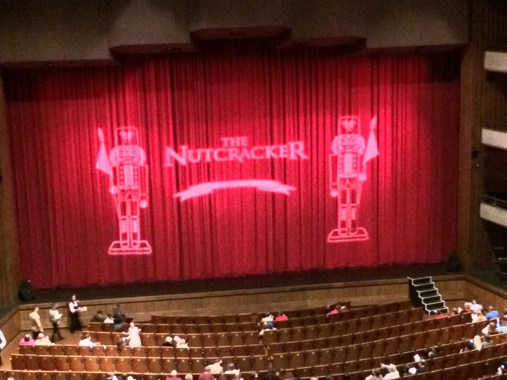 Broadening my cultural experiences at The Nutcracker.  Yes, I know there is no @Starbucks here. http://t.co/XeBiXbBiEa
