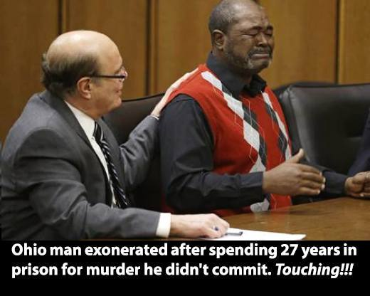 He is the 1,490th exoneration since 1989 - at least. Now think of all the innocent people that we don't know about. http://t.co/Saw8i8oGxN