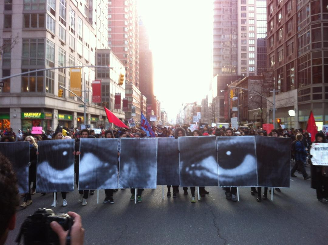 Earlier today in New York City #MillionsMarchNYC http://t.co/QpfVYUYQ7P