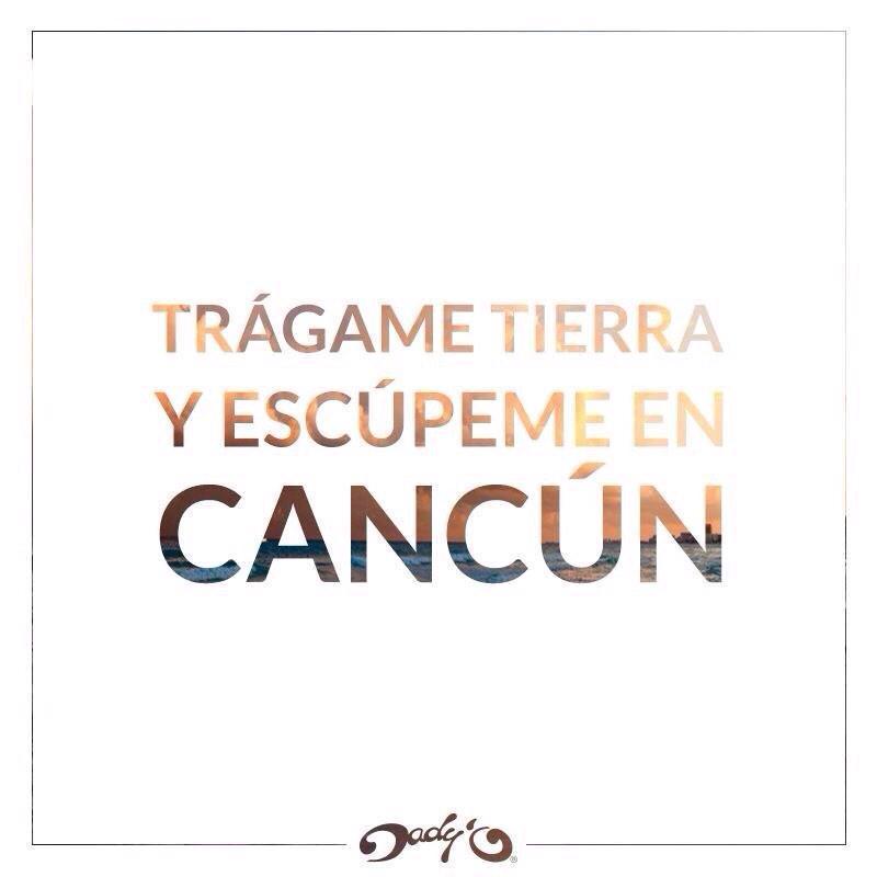 @AlexXxStrecci lo que importa es la actitud, ¡bienvenido a Cancún! http://t.co/TNmaL6RCke