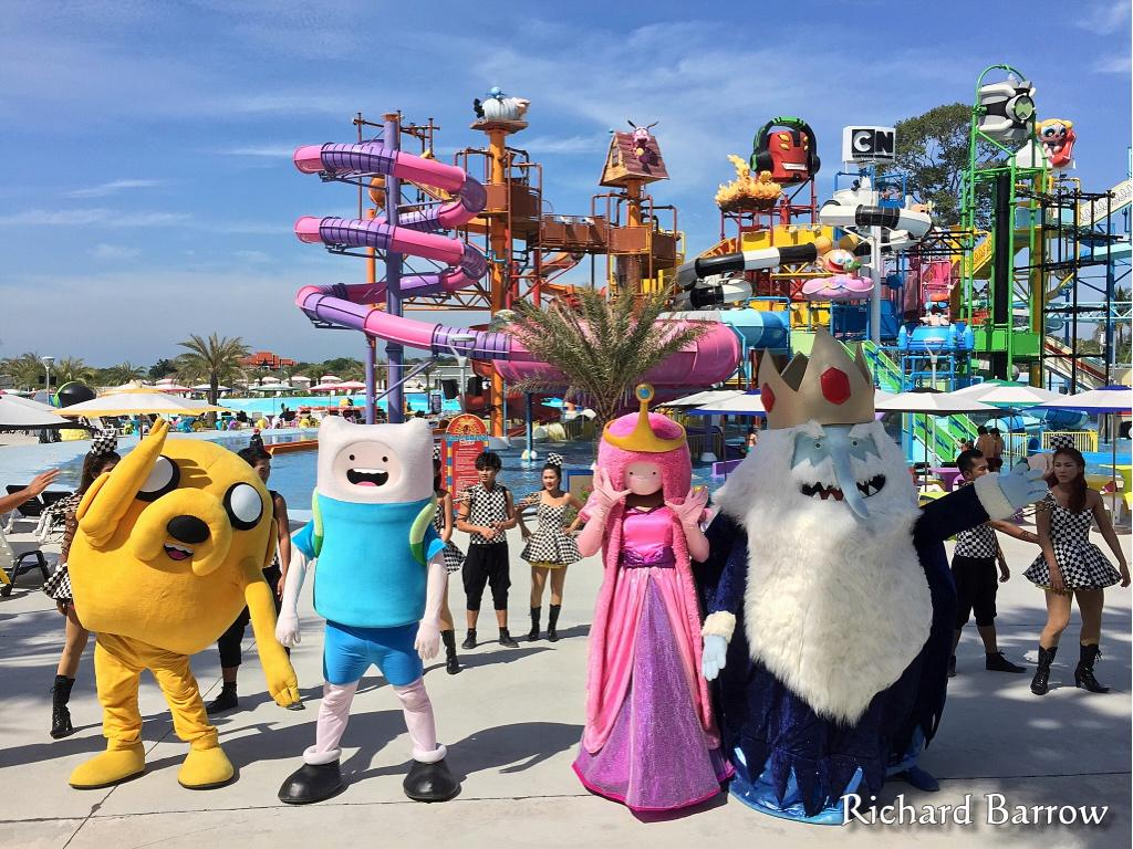 The world's first Cartoon Network Amazone waterpark has just opened south of Pattaya #Thailand #ttot http://t.co/a9ft2sj9Os