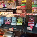 I didn't buy an instant camera in Tokyo, but I remain impressed by their ready availability.