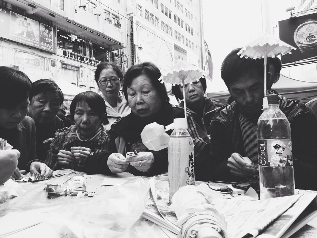 For those who still think the #UmbrellaMovement is limited to the generation of the young and angry: http://t.co/5zcPb4jMYZ