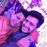 "Big hug my friend ""@tanuj_garg: RD forever !!! @Riteishd http://t.co/KfFPajmuLX"""