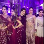 The stunners at Rriddhi's sangeet last night !!