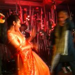.@mikasingh , the rockstar, got the smokin @sonakshisinha to show some real tevar on stage at Rriddhi's sangeet !!