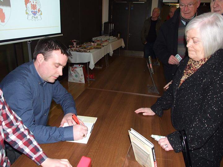 """RT @StPatsCollege: Congrats to our librarian Cathal Coyle on the launch of his book """"The Little Book of Tyrone"""".#greatmangreatcounty http://t.co/s8MJmwL48n"""
