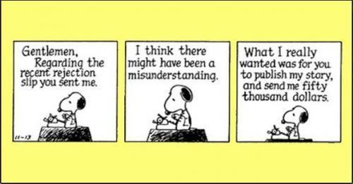 Snoopy says it best. http://t.co/GJEErhbevh