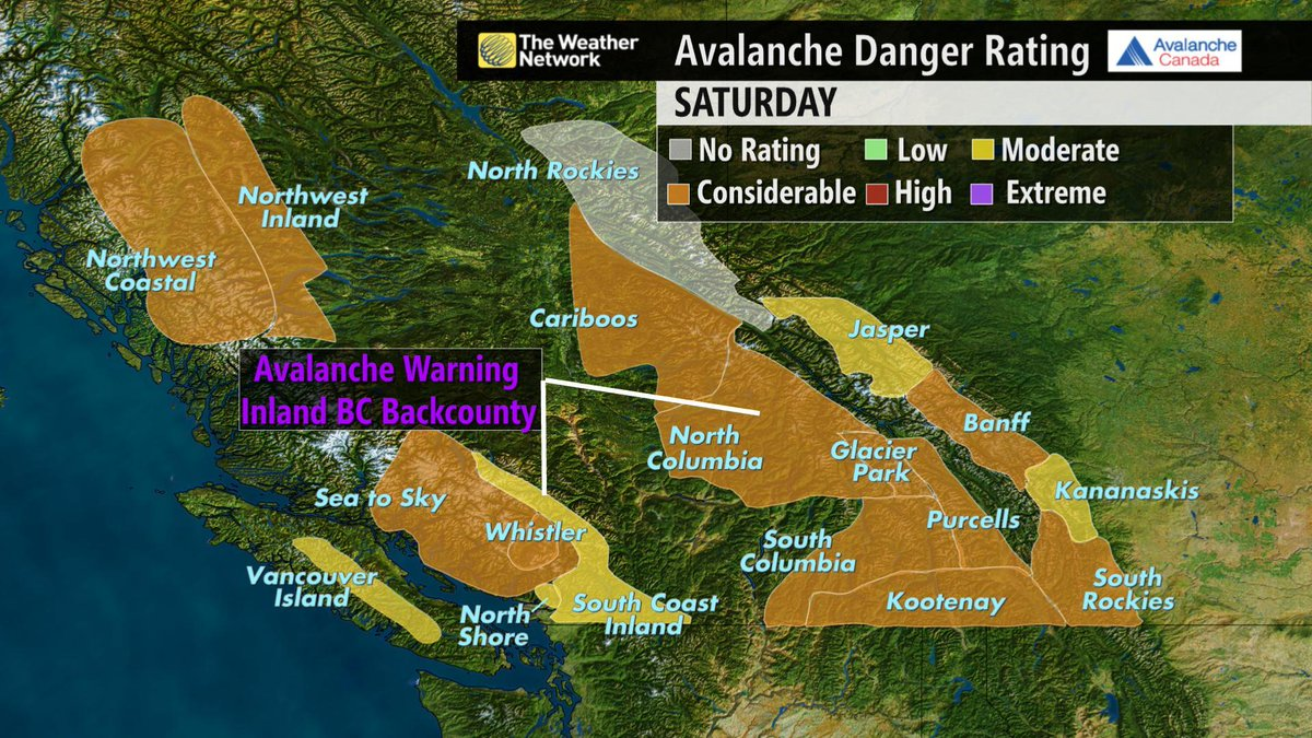 Nicole Karkic (@NicoleKarkic): Avalanche Canada has issued a special public #avalanche warning for recreational backcountry users from Dec 26-30. http://t.co/WXasMMWgFf