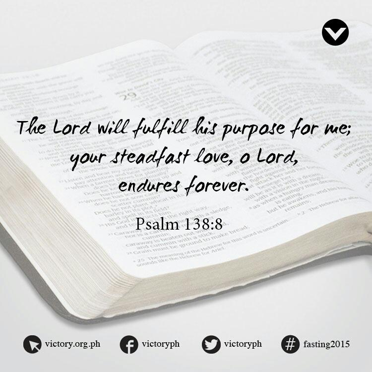 God is faithful to fulfill His purpose for you! http://t.co/5JOAHHDn3r