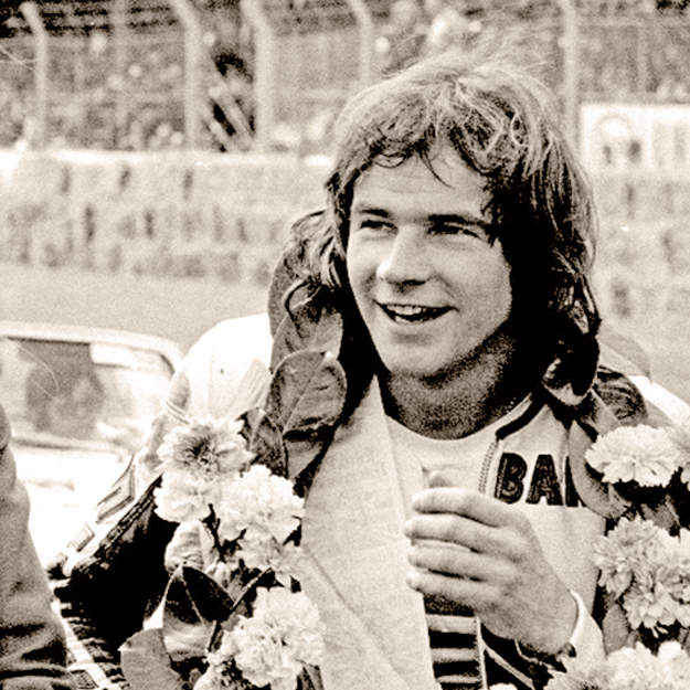 Barry Sheene remembered by @VicReeves1 on BBC2 Sunday 21.05 http://t.co/TqJSmItVgT http://t.co/JRA13rJuTK
