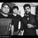 @iam_str sings for #prasanth's #saahasam  #desigirl along With #lakshmi Menon the Audio is Super complete Nowwww  :)