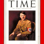 """The Times has named Nigel Farage Briton of the Year. In 1938, """"Time"""" magazines Man of the Year was Hitler. http://t.co/v9wBkMQj3q"""