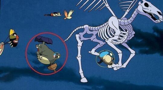 別の作品に隠れトトロがいるの知ってた?