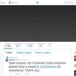 .@AirAsias logos and cover photos on Twitter and Facebook have been changed to grey. #QZ8501 http://t.co/4UWQ47qAhA