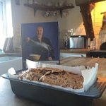 Hey bud.Putting your book to the ULTIMATE test on Bara Brith.Looking good!! Best wishes to all.x @PaulHollywood http://t.co/PWHbxqgAp9