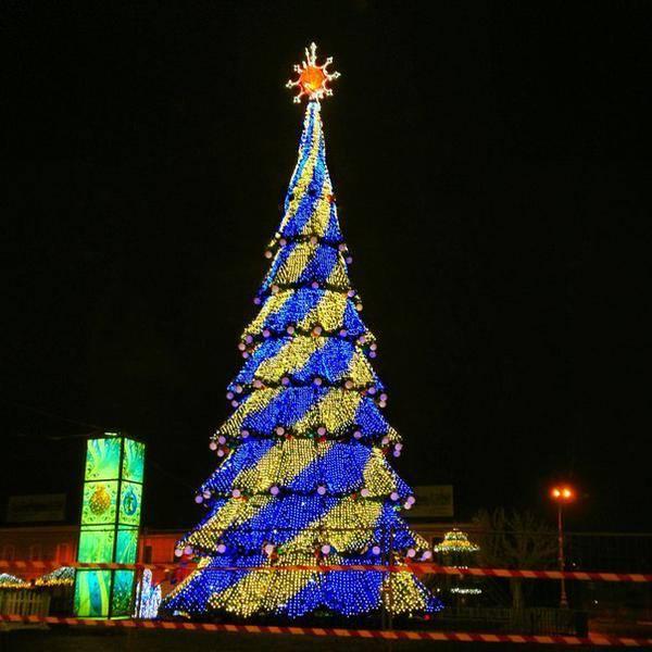 Завтра откроется главная елка города