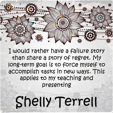 Inspiring words by @ShellTerrell. #edchat #edtalk http://t.co/b3k7T7KZgp
