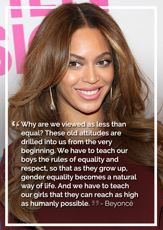 the most inspiring celebrity feminist quotes of 2014 from