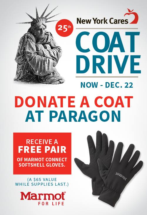 NYC! #DonateACoat this winter to help those who are in need. We're accepting gently used coats for @newyorkcares. http://t.co/FJgwEPxx6l