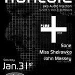 Installment 005 | 1.31.15 | @audio_injection + @Sone_Brian + @Miss_Shelrawka + @SoundRehab #Seattle #Techno http://t.co/91LyHgNbSO