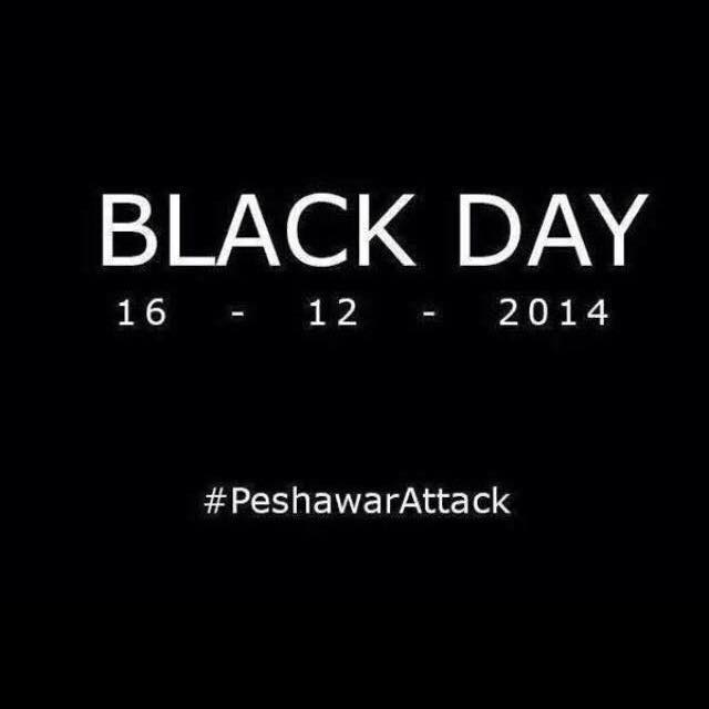 Millions are changing their Facebook and Twitter profile pictures to black squares to honour #PeshawarAttack victims. http://t.co/7MQ3V9hHQA
