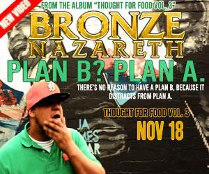 "New Bronze Nazareth VIDEO ""Plan B? Plan A.""   http://t.co/ZG2ca34pA1 http://t.co/YYQKKoDIKt"