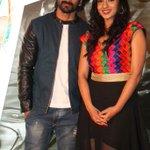 Kannada stars @Dhananjayaka @sruthihariharan @ audio launch of their movie #Raate http://t.co/psy3osBXuB