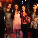 Kannada actors @DeepikaKamaiah @actressanjjanaa @PrajnaPrajna @actressharshika @RamyaaBarnaa what a pose!